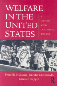 Welfare in the United States: A History with Documents, 1935–1996